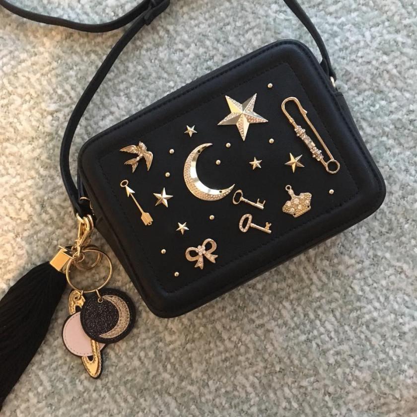 Aldo-Moon-and-Stars-Studded-Black-Crossbody-Bag